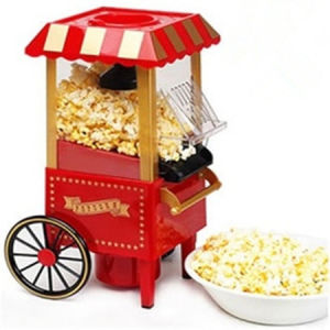 Retro Popcorn Maker with Cover Acts as Bowl pictures & photos