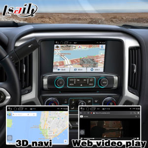 Android 4.4 GPS Navigation Box for Chevrolet Silverado Colorado etc Video Interface Box GM Intellink Mylink System pictures & photos