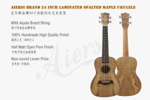 Aiersi Spalted Maple Tenor Ukulele in 26 Inch pictures & photos