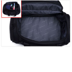 Fashion Waterproof Black Polyester Custom Men Duffel Travel Weekend Bag pictures & photos