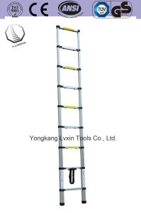 High Quality Telescopic Ladder of 12 Steps pictures & photos