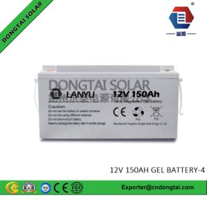 Gel Type 150ah 12V Solar Battery for UPS pictures & photos