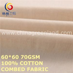 Cotton Combed Fabric for Clothes Textile (GLLML479) pictures & photos