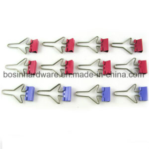 Airplane Shape Metal Binder Clip pictures & photos