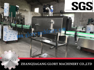 2000bph Split Bottle Water Filling Line with Label Shrinking Tunnel pictures & photos