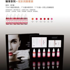 Goochie Organic Healthy Cosmetic Tattoo Lip Pigment Kit pictures & photos