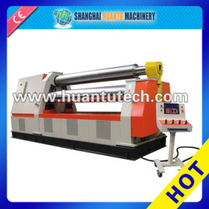 W11s-10X3000 3 Rollers Hydraulic Universal Steel Plate Rolling Machine pictures & photos