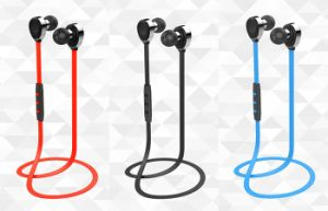 Superior Design Metal ABS Sport Bluetooth Earphone pictures & photos