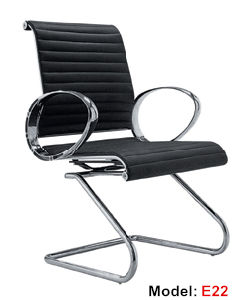 Hotel Leather Aluminium Visitor/ Meeting Office Chair (RFT-E02) pictures & photos
