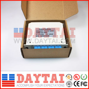 1X8 Fiber Optical PLC Splitter with Insert Plate pictures & photos