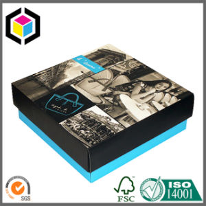 Lift Lid off Rigid Cardboard Paper Cosmetic Gift Box pictures & photos