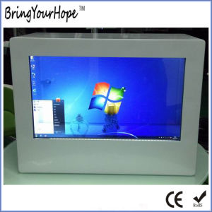 "Windows I3 Network Transparent LCD Showcase Ad Player 21.5"" (XH-DPF-215B) pictures & photos"