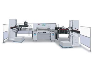 Digital Display Paper Cutting Machine (SQZX92G) pictures & photos