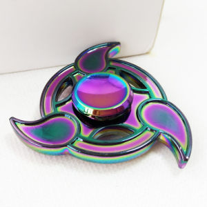 Colorful Flying Fish Rainbow Tri-Spinner Gyro Toy Hand Spinner pictures & photos