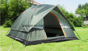 4 Persons Double Layers Camping Tent with Cover pictures & photos