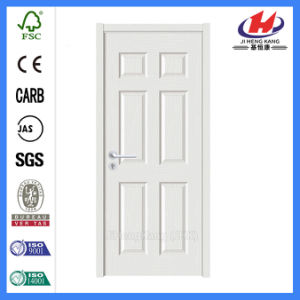 6 Panel Interior Bathroom Molded White Doors (Jhk-006) pictures & photos