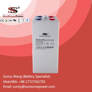 2V 1000ah Tubular Plate Gel Lead-Acid Opzv Batteries Solar Battery pictures & photos