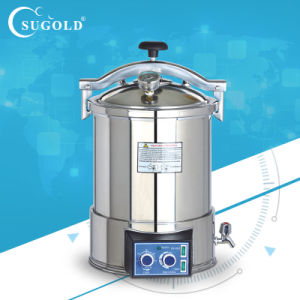 (NEW TYPE) Portable Pressure Steam Sterilizer (YX-18HDJ/YX-24HDJ) pictures & photos