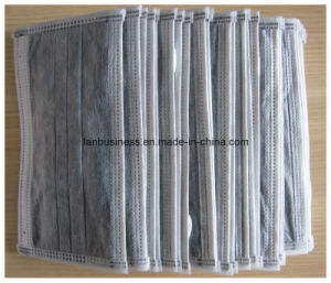Disposable Surgical 4-Ply Active Carbon Face Mask at Home pictures & photos