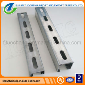Profile Section Gi Slotted Unistrut Channel pictures & photos