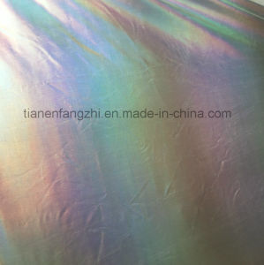 2017 New Style Metallic Feel Fashion Polyester Fabric for Stage Clothing and Fashion Jackets pictures & photos