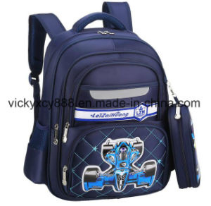 Customized Children Child School Students Double Backpack Bag (CY3715) pictures & photos