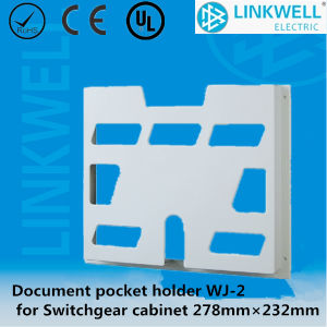 Document and Drawing Pocket A4 for Fixing on The Cabinet Door (wj-2) pictures & photos