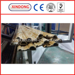 PVC Faux Marble Profile Extrusion Line Making Machine pictures & photos
