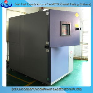 Climatic Hot and Cold Impact Temperature Shock Test Chamber pictures & photos