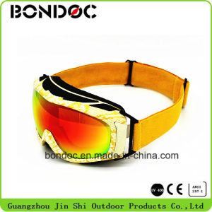 Fashion Stylish Design Printing Frame Ski Goggles pictures & photos
