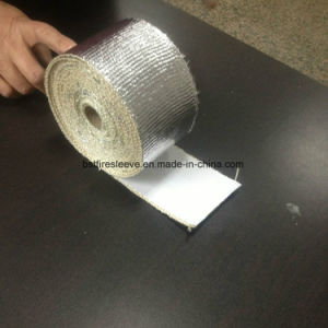 Aluminum Foil Coated Fiberglass Adhesive Backed Heat Reflective Tape pictures & photos