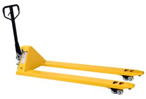 2ton Samll Hand Pallet Truck Long Forks China pictures & photos