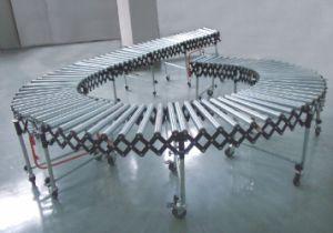 Flexible Gravity Skate Wheel Roller Conveyor (ZLY) pictures & photos