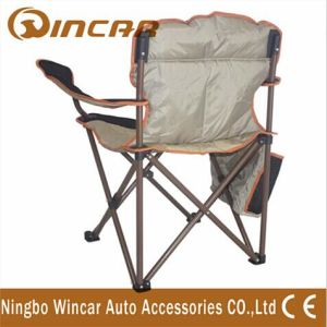 Aluminum Folding Camping Chair with Arm Rest Cup Holder