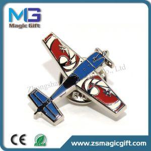 Popular Hard Enamel Plane Pin Badge pictures & photos