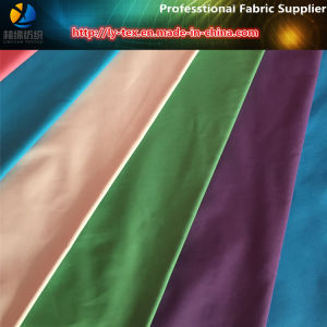 320t Full Dull Polyester Pongee Fabric with Oil Calender&Waterproof for Jacket pictures & photos