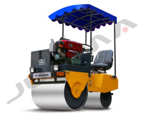 2017 New Double Drum Vibratory Roller for Sale pictures & photos