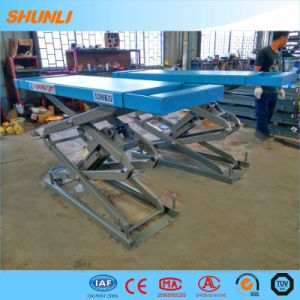 Ce Approved One Side Extension MID-Rise Scissor Car Lifter pictures & photos