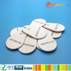 Laser logo MIFARE Classic 1K Nylon Overmolded RFID Keyfob Tag pictures & photos