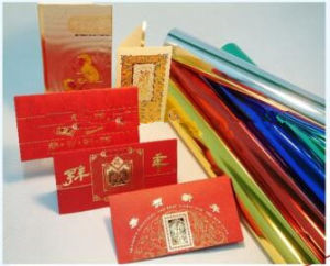 The Popular and Good Quality Hot Stamping Foil for Paper pictures & photos