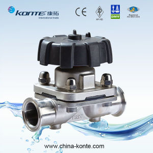 Manual Diaphragm Valve with Clamp End pictures & photos