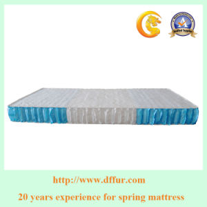 Luxury King Size Bedroom Furniture Pocket Spring Mattress Df-04 pictures & photos