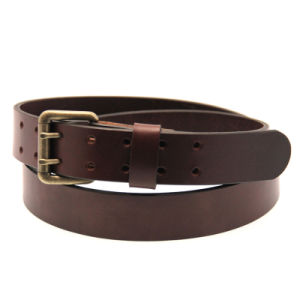 Fashion Brown Men′s Belts PU Leather Belt for Men pictures & photos