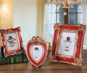 Polyresin Antique Photo Frame Craft for Decoration Souvenir pictures & photos