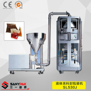 Vertical Form Fill Seal Packaging Machine for Air Free Liquid Packing pictures & photos