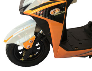 City Mobility Electric Scooters Moped with Removable Lithium Battery and a Modern Design pictures & photos