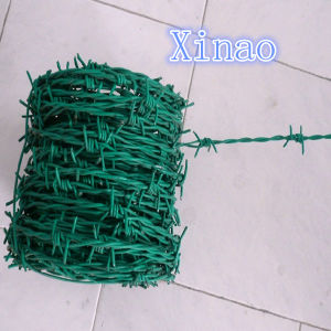 High Quality PVC Coated Twisted Barbed Wire (XA-BW001) pictures & photos