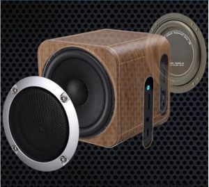 wireless office speakers. wood wireless office professional bluetooth speakers with audio tf card r