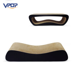 Vpop 2 in 1 Eco-Friendly Material Corrugated Cat Scratcher Bed pictures & photos