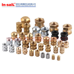 Knurls Brass Thread Insert Nut for Thermoplastic pictures & photos